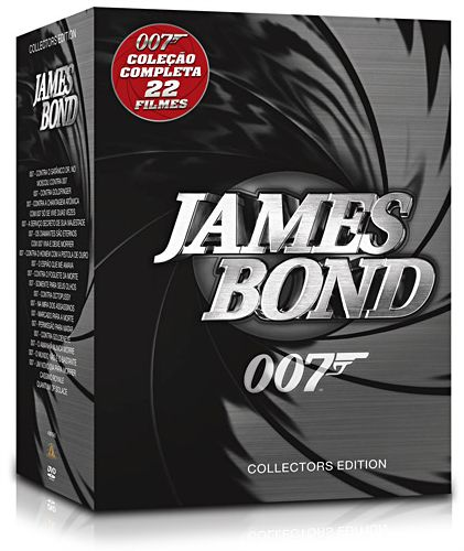 Coleção completa de DVDs do James Bond 007