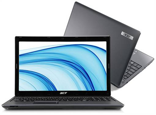 Notebook Acer Intel Core i3 4GB 500GB LED 15,6 AS5733-6637