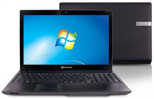 Notebook Gateway Intel Core i3 320GB LED 15,6 Windows 7
