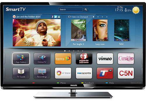 Smart TV Philips LED 47 Full HD Plus 240 Hz
