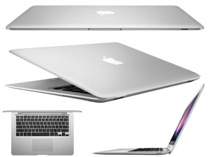 "Macbook Air MJVM2BZ/A Intel Core i5 4GB 128GB Tela Widescreen 11.6"" OS X Yosemite Prata – Apple"